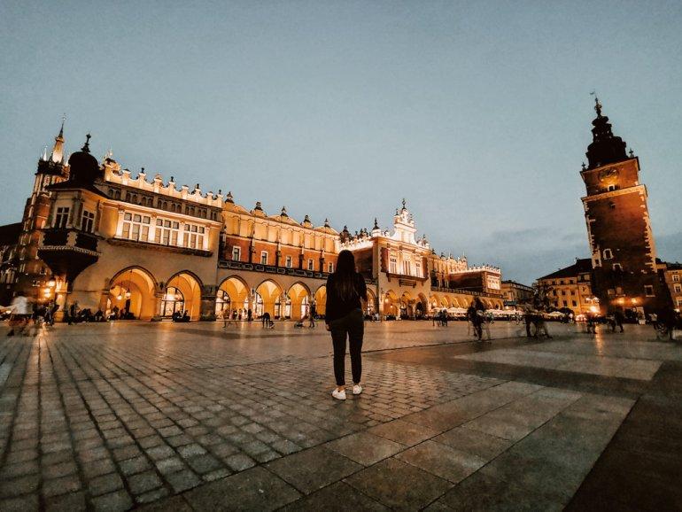 Piazza Rynek Główny - Cracovia