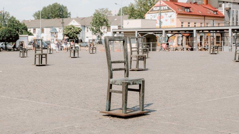 Piazza degli Eroi del Ghetto - Cracovia
