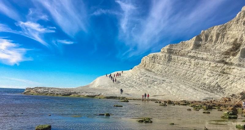 Scala dei Turchi: il paradiso in Sicilia