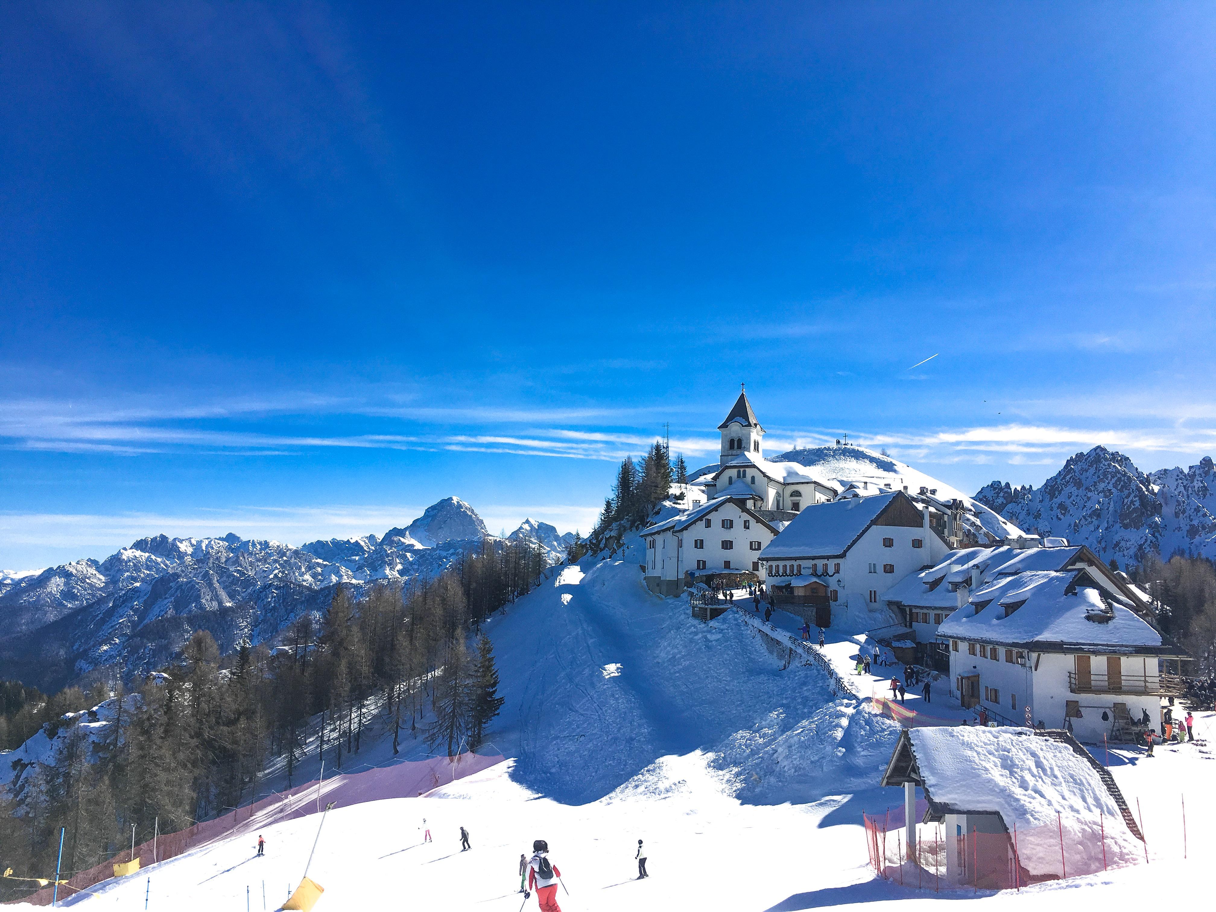 In cima al Monte Lussari