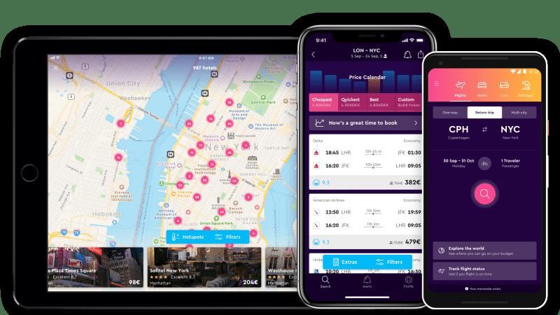 App Momondo per viaggiare low cost e non solo