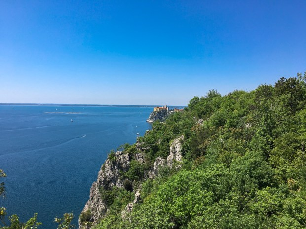 Sentiero Rilke da Sistiana a Duino