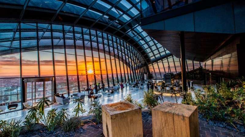 Sky Garden, il giardino panoramico di Londra