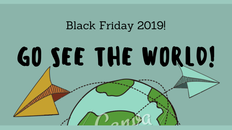 Black Friday 2019: offerte per i viaggiatori