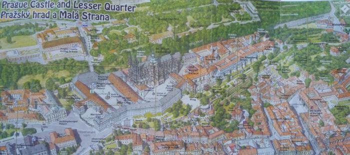 mappa-castello praga map