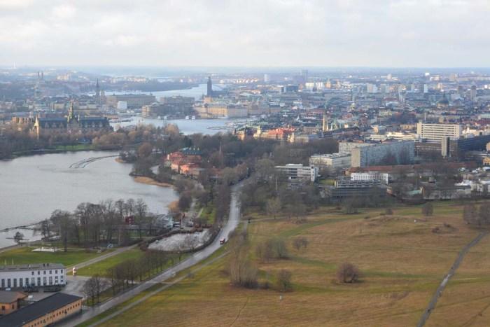 Vista dallo Skyview Stoccolma Stockholm