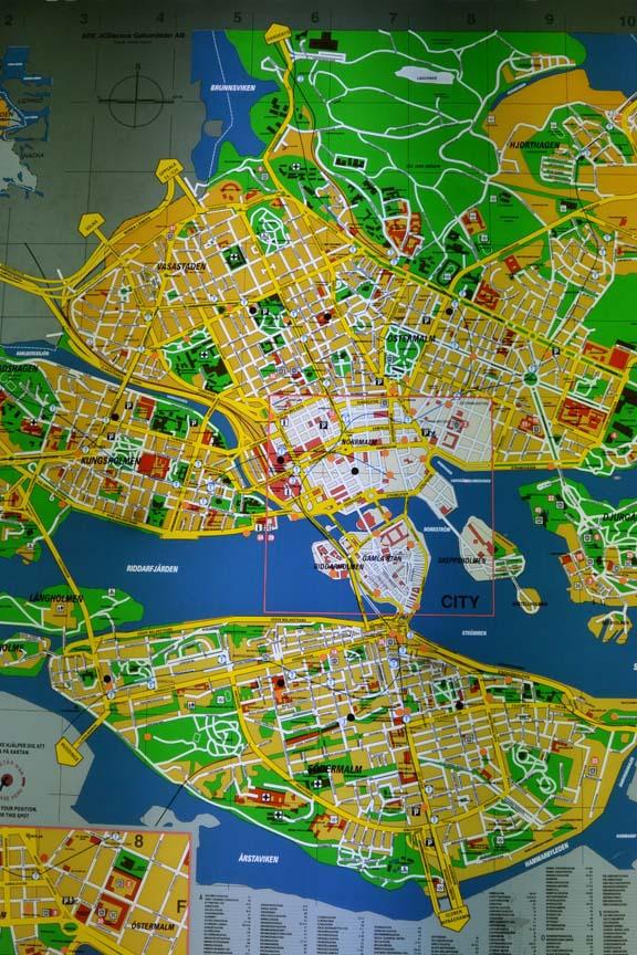 Stockholm-map