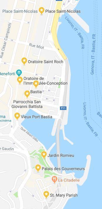 cosa vedere a Bastia