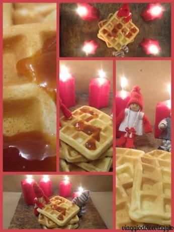 Ricetta dei waffle Belgio