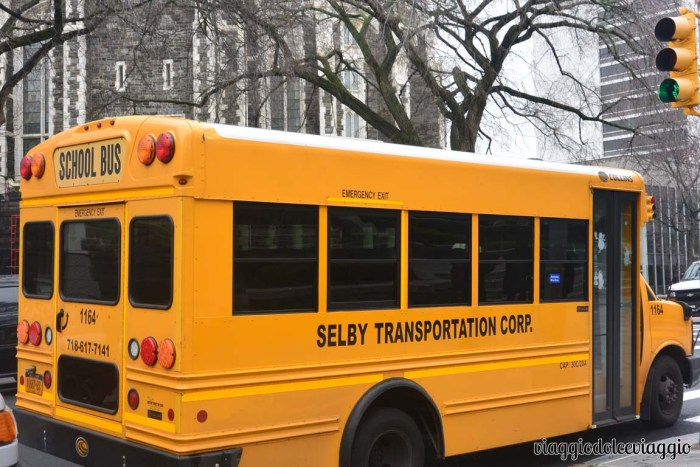 City College of New York Schoolbus