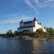 Lago vanern, Svezia, Lacko Slott