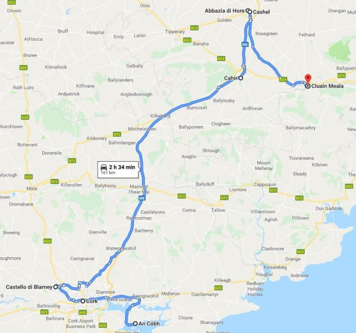 Itinerario Irlanda due settimane