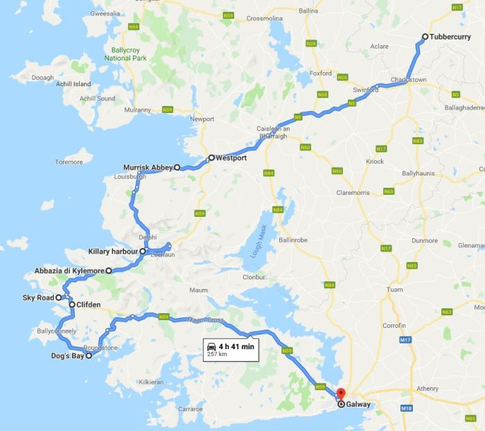 Itinerario Irlanda: contee di Clare e Galway
