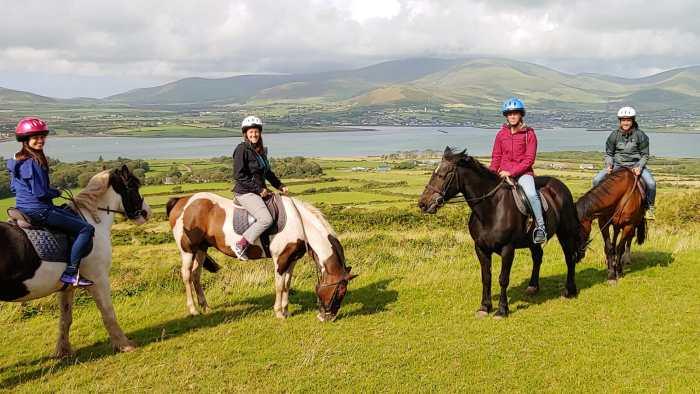 penisola di Dingle a cavallo, Irlanda