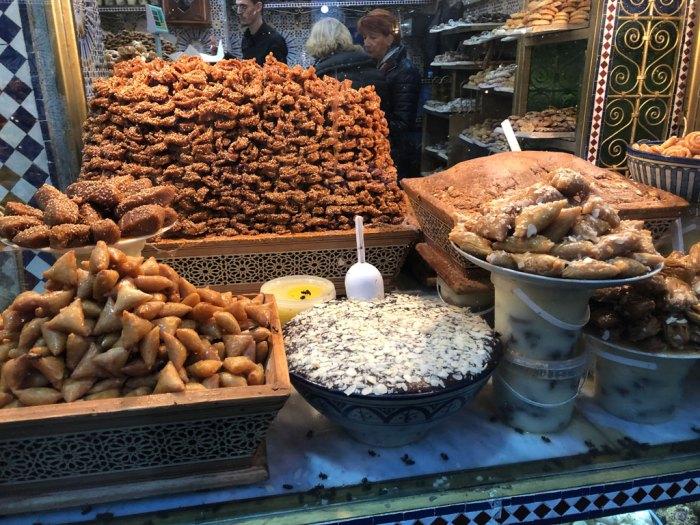 Dolcetti marocchini, corna di gazzella marocchine