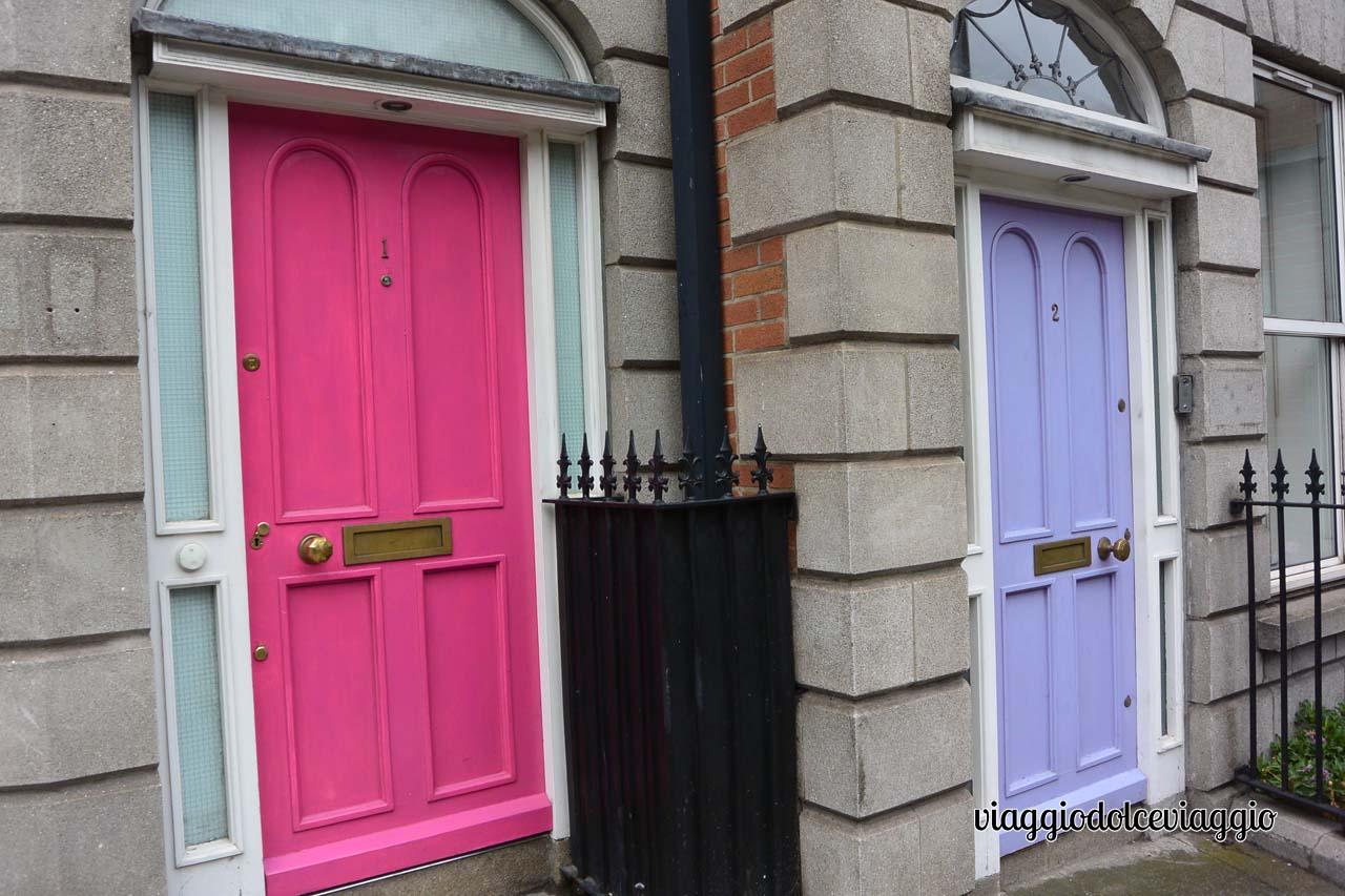 Dublino, portoncini colorati