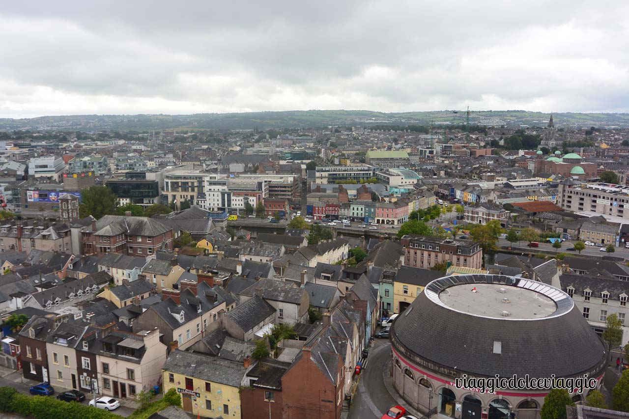 Vista dall'alto di Cork