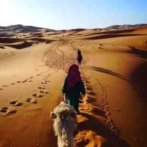 Un giorno di tour del deserto con gli itinerari di Viaggio in Marocco