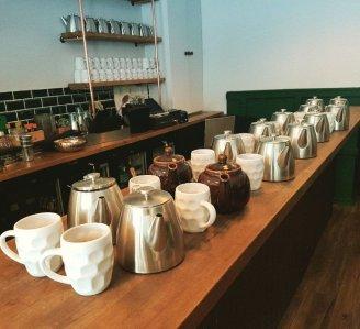 Brew, the Tea Pub banco