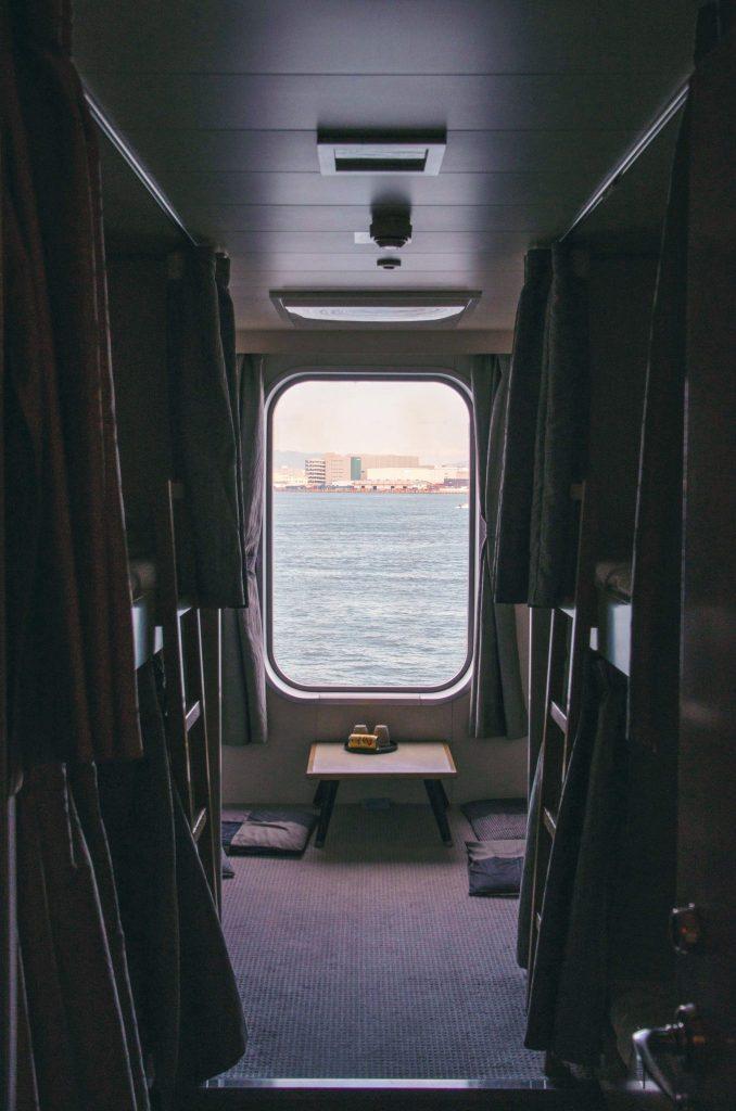seconda clase nave tra Cina e Giappone