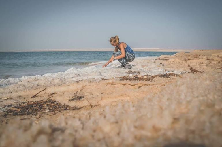 Il mar morto senza pagare
