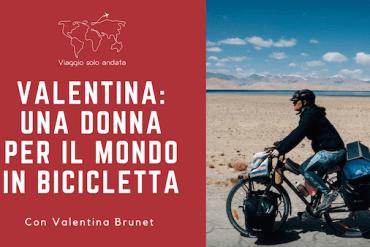 viaggiatrice in bici