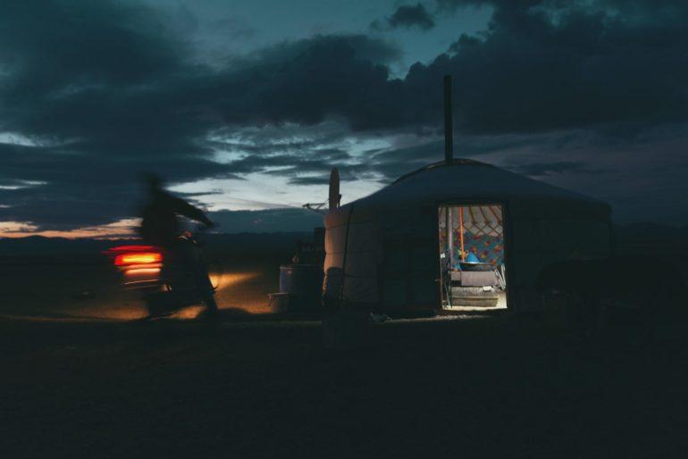 minimalismo nomadi mongoli