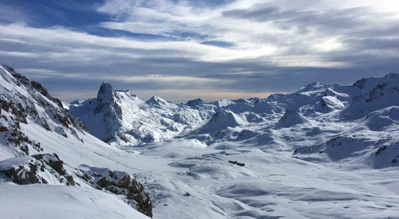 viaggio di Giovanni montagne innevate