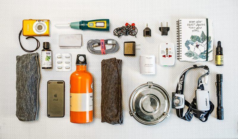 vanlife minimalista - oggetti