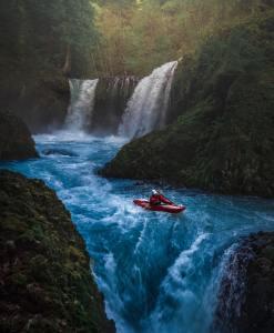 avventura in kayak
