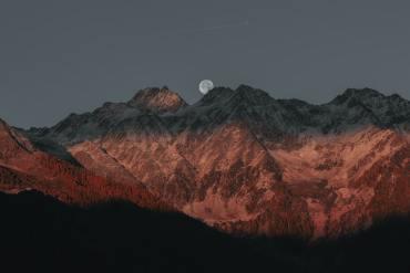 come fotografare montagne