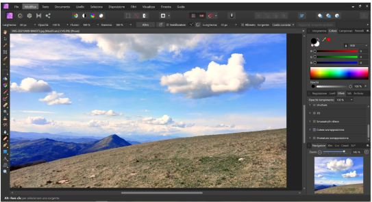 affinity-photo-fotoritocco-nuvole