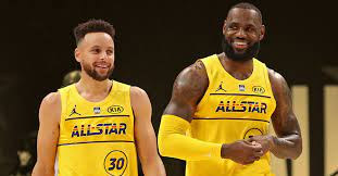 LeBron Curry rivalry