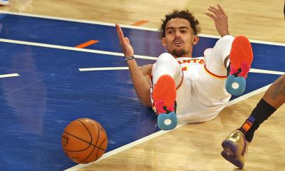 trae young spit