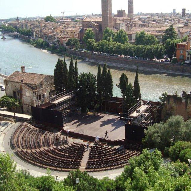 visitare Verona teatro romano