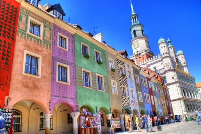 Viaggio in auto in centro Europa