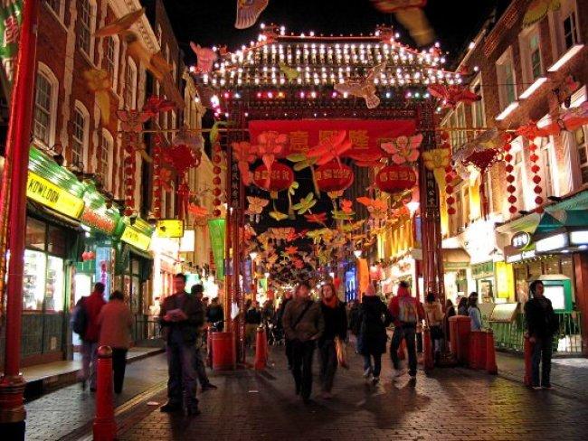 Visitare Londra-Chinatown