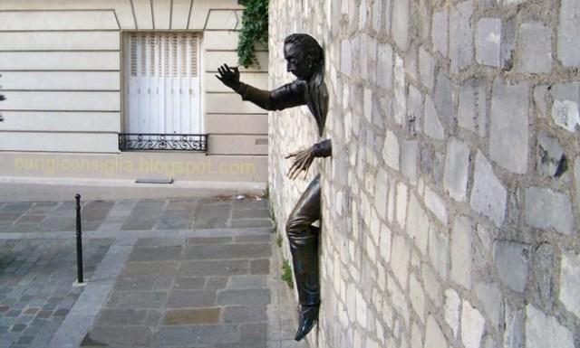 Vacanze a Parigi- Le passe muraille- Dutilleul