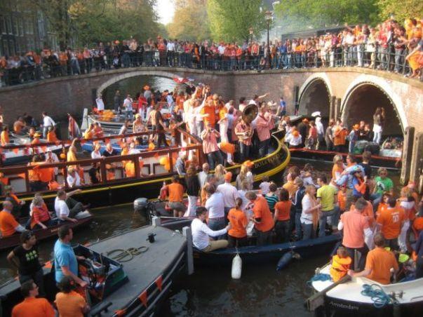 Festa della regina di Amsterdam