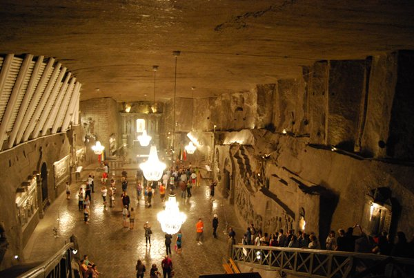 Viaggi in Europa: miniera di sale di Wieliczka
