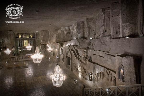 Viaggio in Europa: miniera di sale di Wieliczka