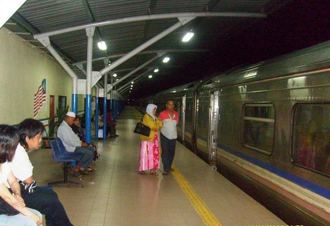Viaggiare in Malesia in treno