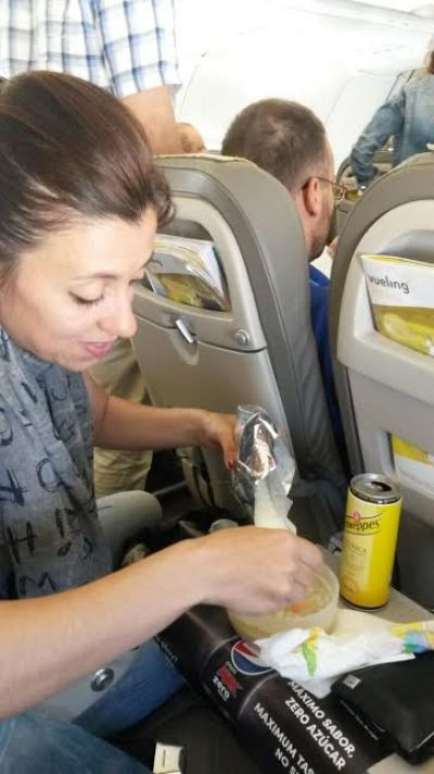 Come volare con un neonato?