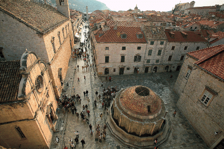 The Stradun Dubrovnik main street
