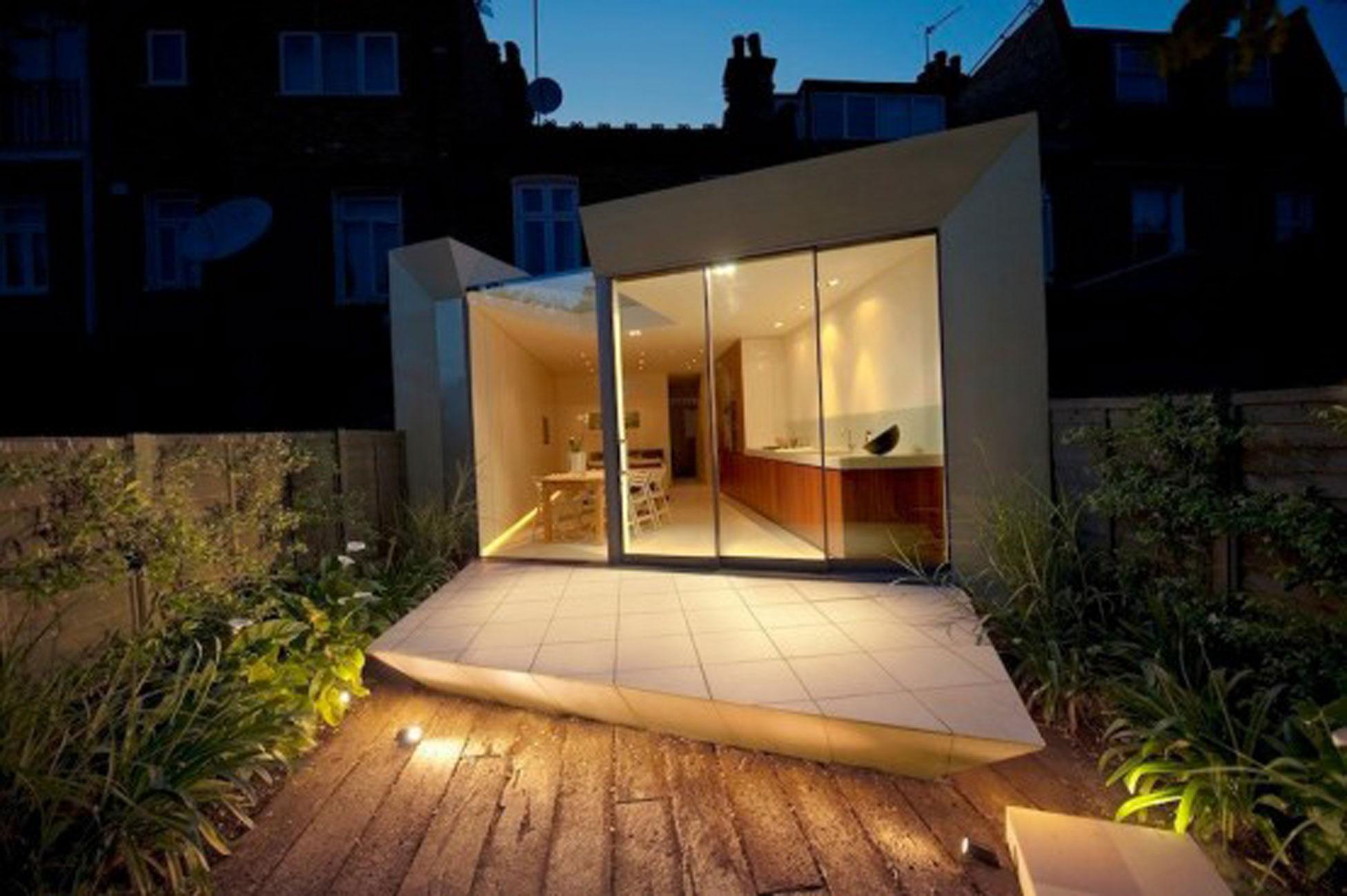» Simple Modern Terrace House Design In LondonHouse