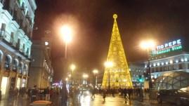 Puerta del Sol, árbol de Navidad