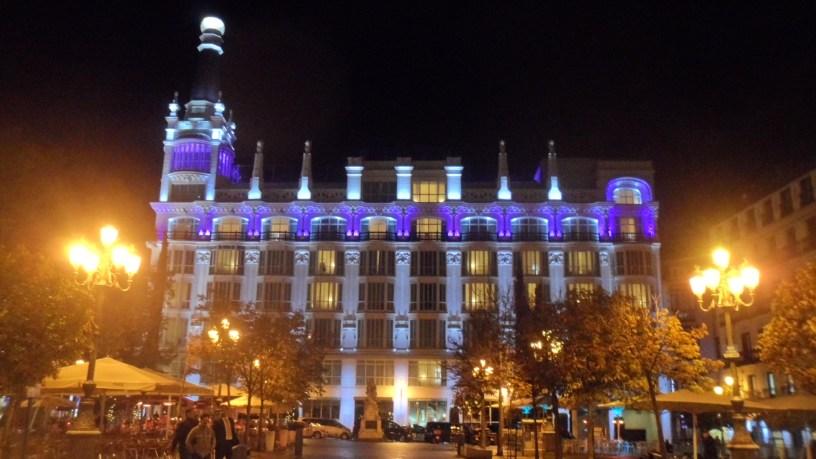 Hotel Reina Victoria, Plaza de Santa Ana