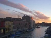 Puesta de sol en Murano