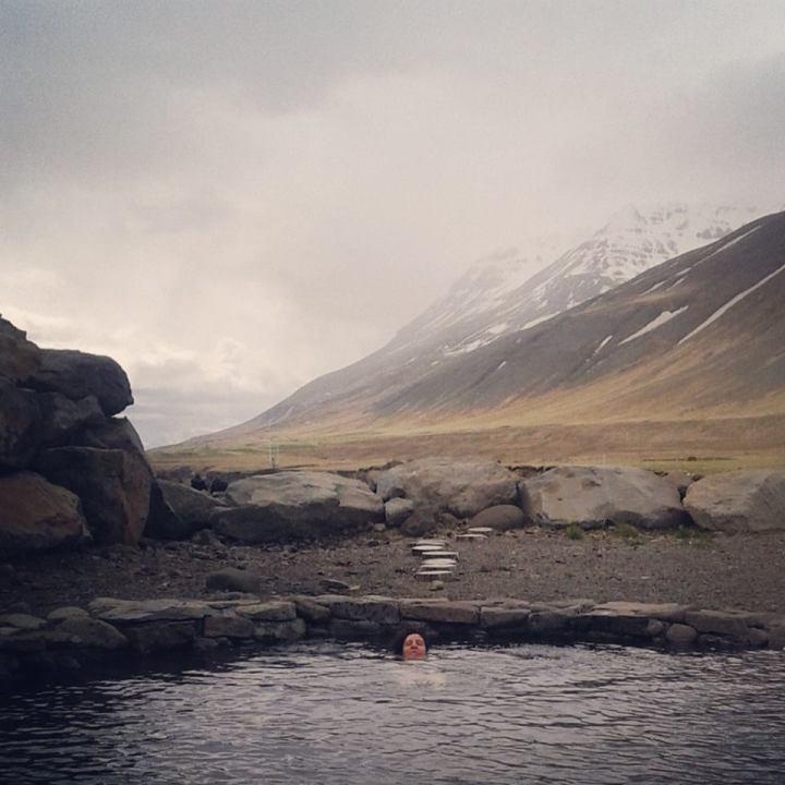 Viajar a Islandia. Grettislaug. Sonsoles Lozano