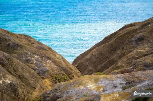 Acantilado Balcón del Pacífico.